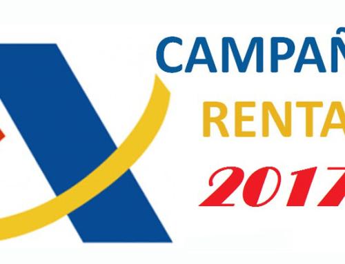 Campaña Renta Ejercicio 2017